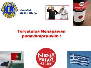 Lions Club Espoo / City ry.