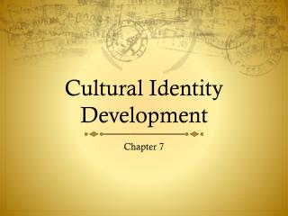 analysis of the human cultural identity Music and identity  the analysis the other way round, t howo shor thwe base produced this  112 questions identity of cultural either.