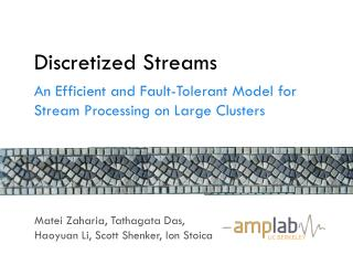 Discretized Streams