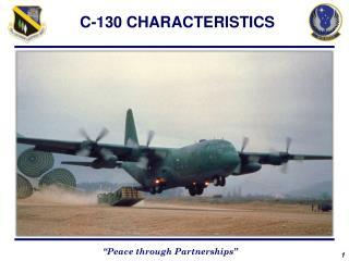 C-130 CHARACTERISTICS