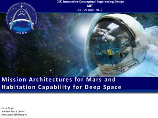 Mission Architectures for Mars and Habitation Capability for Deep Space