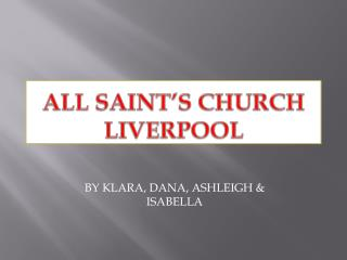 All Saint's Church Liverpool