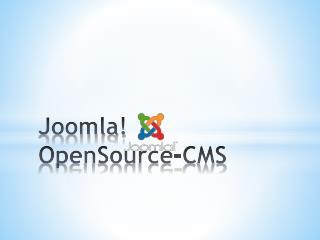 Joomla!  OpenSource -CMS