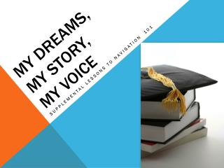 My dreams,  my Story,  my voice