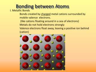 I . Metallic Bonds