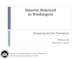 Smarter Balanced  in Washington