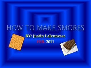 How to make smores