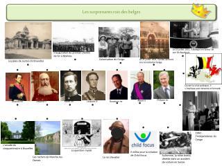 Les surprenants rois des belges