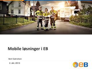 Mobile løsninger i EB