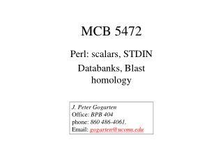 MCB 5472