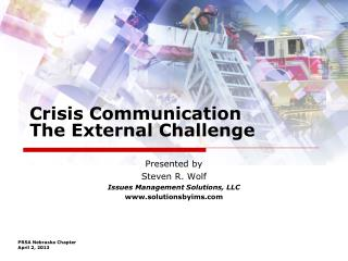 Crisis Communication The External Challenge
