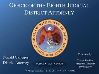 Office of the Eighth Judicial District Attorney