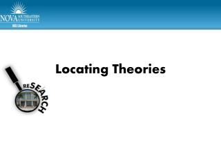 Locating Theories