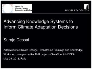 Advancing Knowledge Systems to Inform Climate Adaptation Decisions