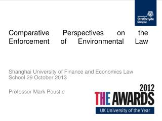 Comparative Perspectives on the Enforcement of Environmental Law