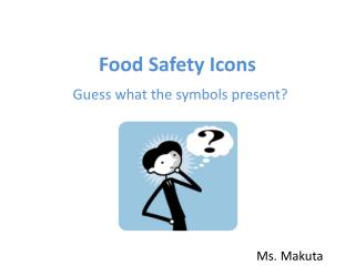 Food Safety Icons