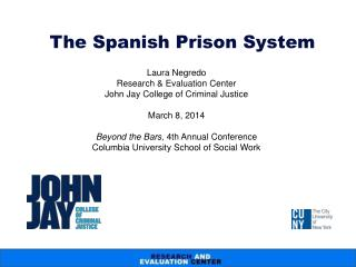 The Spanish Prison System