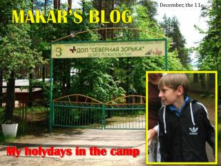 Makar's blog
