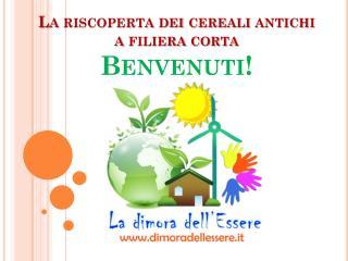 La riscoperta dei cereali antichi a filiera corta  Benvenuti!