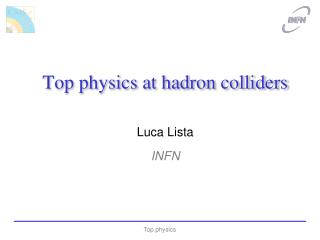 Top physics at hadron colliders