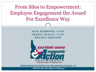 From Silos to Empowerment: Employee Engagement the Award For Excellence Way