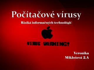 Veronika  Miklošová 2.A