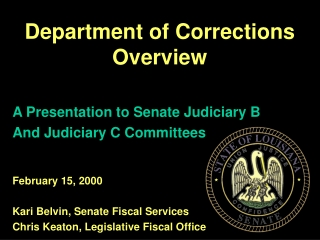 The History of Crime  Corrections