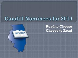 Caudill Nominees for 2014