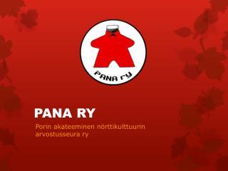 PANA RY