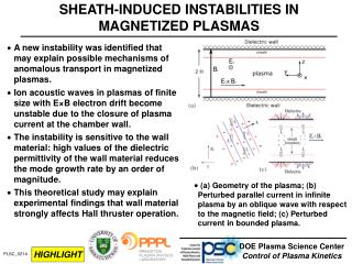 SHEATH-INDUCED INSTABILITIES IN MAGNETIZED PLASMAS