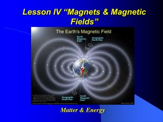 "Lesson IV ""Magnets & Magnetic Fields"""