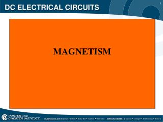 DC ELECTRICAL CIRCUITS