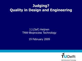 Vermelding onderdeel organisatie 1 Judging
