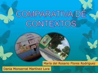 COMPARATIVA DE CONTEXTOS