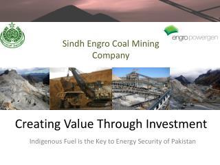 Creating Value Through Investment
