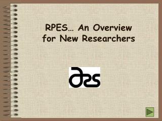 New Researcher Orientation