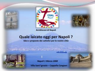 Napoli 1 Marzo 2008
