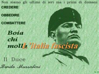 L' italia  fascista