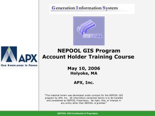 GIS Training - Agenda