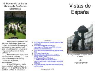 Vistas de  España