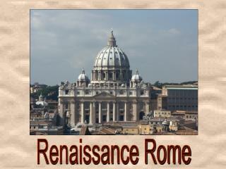 Renaissance Rome