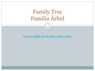 Family Tree Familia Árbol