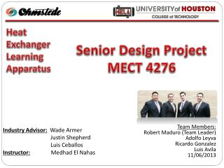 Senior Design Project MECT 4276
