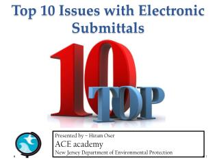 Top 10 Issues with Electronic Submittals