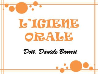 Dott. Daniele Barresi