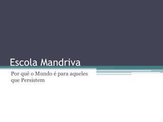 Escola Mandriva