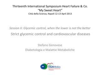 Stefano Genovese Diabetologia e Malattie Metaboliche