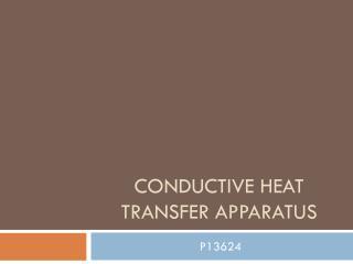 Conductive Heat Transfer Apparatus