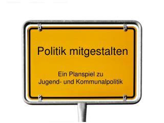 Politik mitgestalten