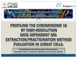 Spanish Human Proteome  Project Consortium Chromosome  16